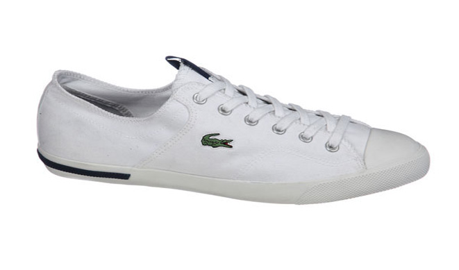 Zapatos Lacoste De Tela
