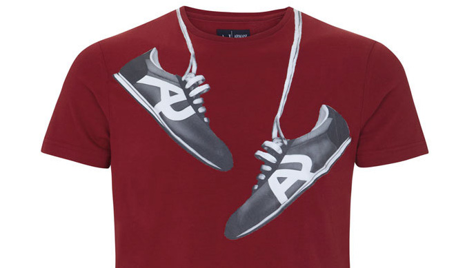 Camiseta de hombre Armani Jeans