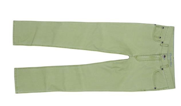 Pantalón vaquero verde Emidio Tucci.