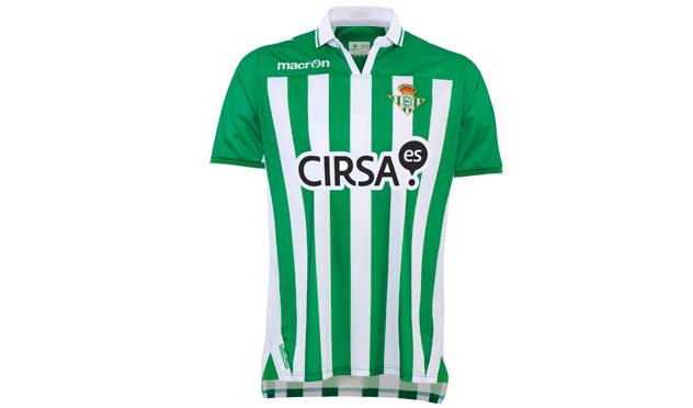 Equipación del Real Betis.