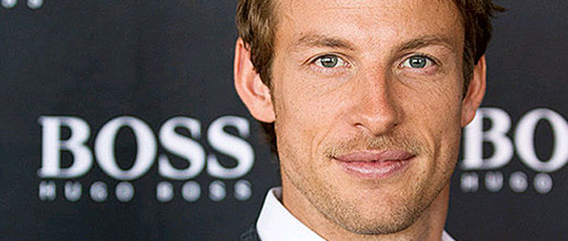 Jenson Button, imagen de Hugo Boss