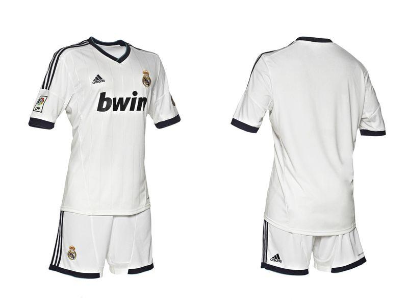Equipación del Real Madrid.