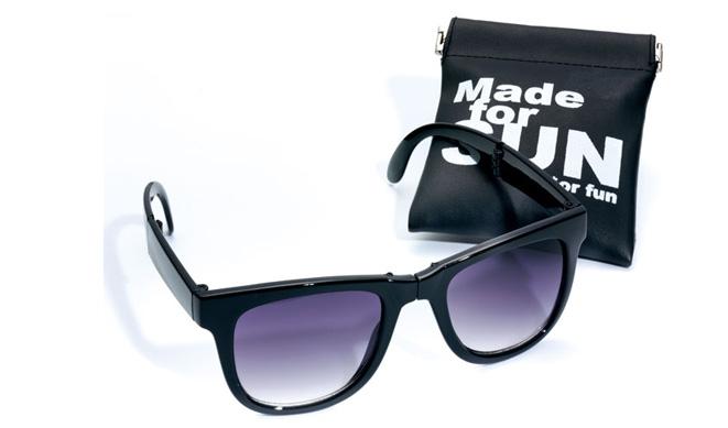 Gafas de sol plegables unisex