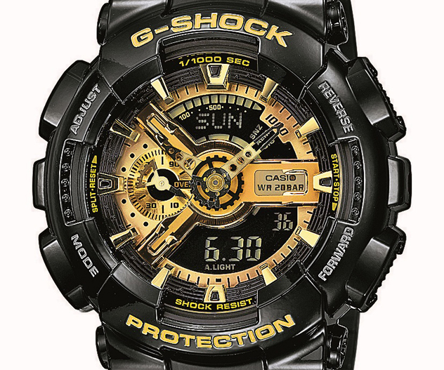 Foto 02 Casio G-SHOCK GA-110GB-1AER