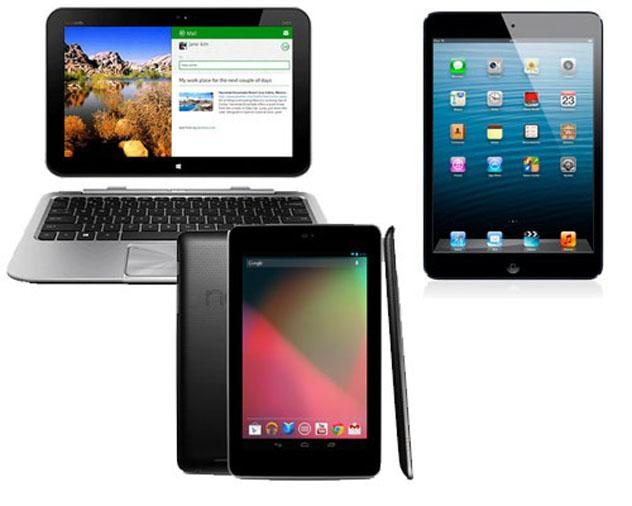 No es difícil elegir la tablet más adecuada a nuestras necesidades