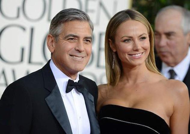 Stacy Keibler con Clooney