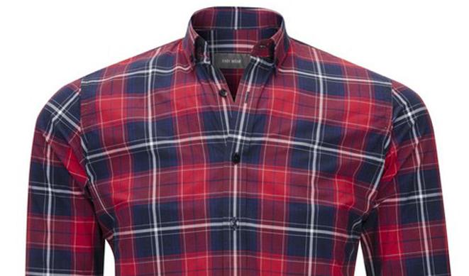 Camisa roja de hombre Easy Wear