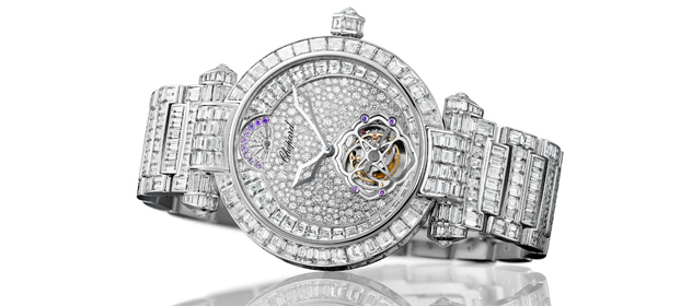 CHOPARD Imperiale Tourbillon Joaillerie white