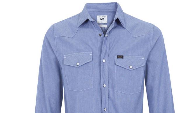 Camisa de hombre Lee