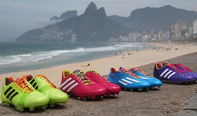 Las botas de fútbol para el Mundial de Brasil