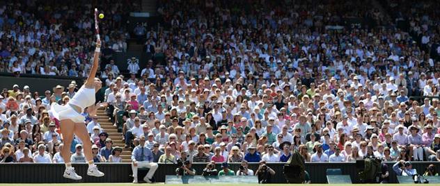 Las tenistas favoritas de Wimbledon 2014