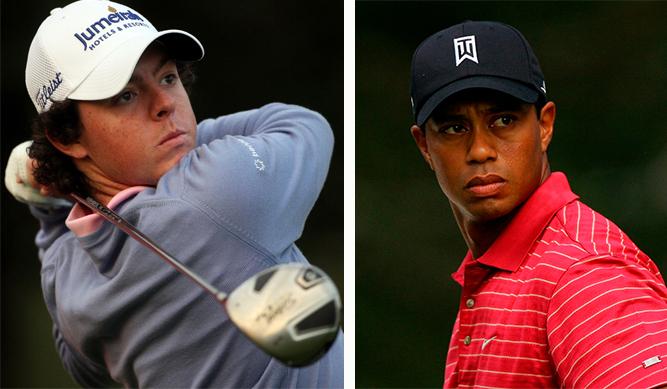 McIlroy pone en su mira a 'Tiger' Woods