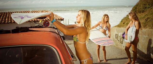 Las chicas del surf español