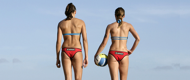Parejas del voley playa