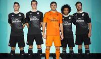 El Madrid, de negro y a lomos de dragones