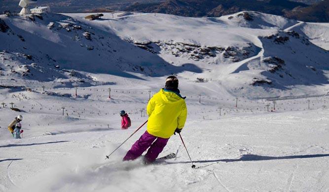 El esquí aguanta la crisis
