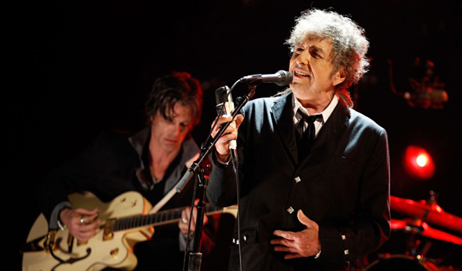 Las sombras en la noche de Bob Dylan