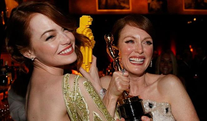 Oscar 2015: entre música y pelirrojas