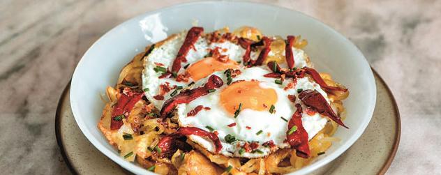 Huevos y patatas, inseparables