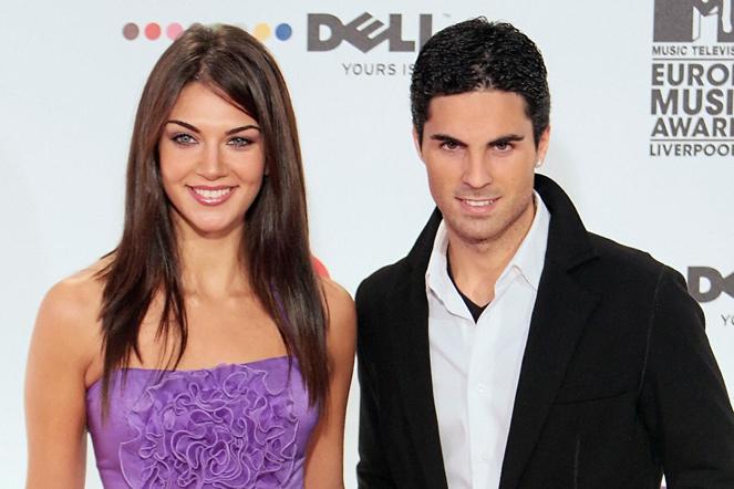Arteta y Lorena Bernal