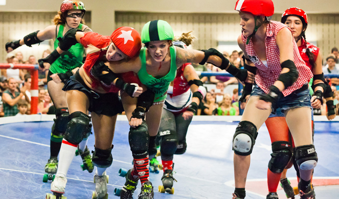 Roller derby, punk sobre patines