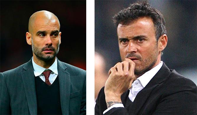 Guardiola y Luis Enrique, elegancia en su punto