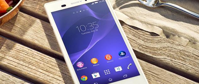 Sony Xperia T3, deslumbra en las redes