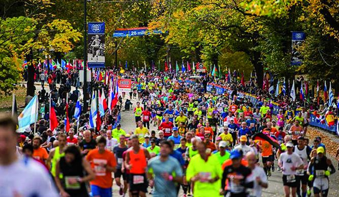 Nueva York se rinde a su maratón