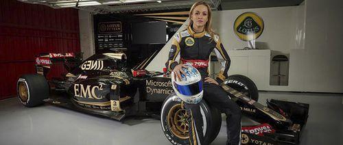 Una mujer en la Fórmula 1