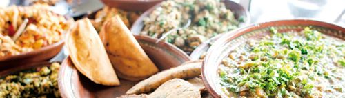 Menú mexicano, colorista y con sabor