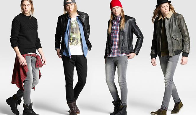 3 maneras de vestir, 3 actitudes distintas