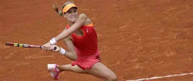 Eugéni Bouchard, nueva belleza del tenis