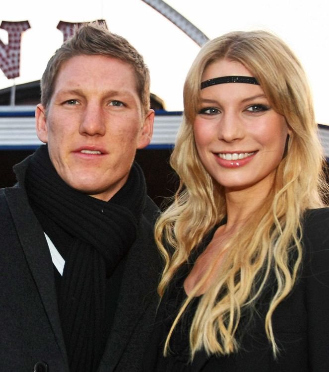 Schweinsteiger y Sarah Brandner