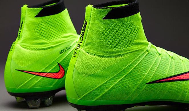 Nike Verdes Con Azul