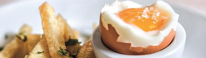 Huevos y patatas, pareja bien avenida